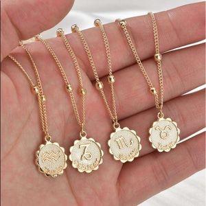Jewelry - Zodiac Gold Necklaces
